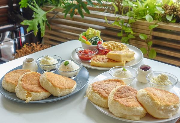 道地日本舒芙蕾鬆餅~一吃難忘綿軟美味-[高雄下午茶推薦]Pancake Ken's kitchen