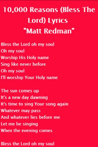 Download Matt Redman - 10,000 Reasons Google Play softwares