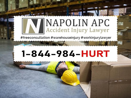Napolin Accident Injury Lawyer for Ontario California Warehouse Injuries