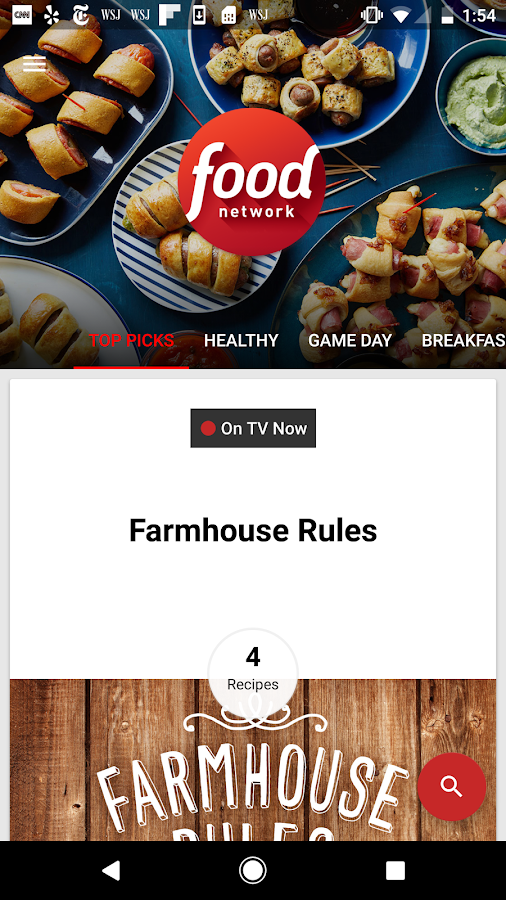 Food network in the kitchen android apps on google play food network in the kitchen screenshot forumfinder Images