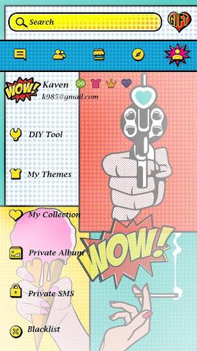 玩免費個人化APP|下載GO SMS PRO WOW THEME app不用錢|硬是要APP