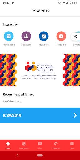 ICSW 2019 screenshot 1