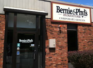 Photo: Bernie & Phyl's Furniture (Corporate Offices) in Norton, MA proudly displaying their BBB Accreditation