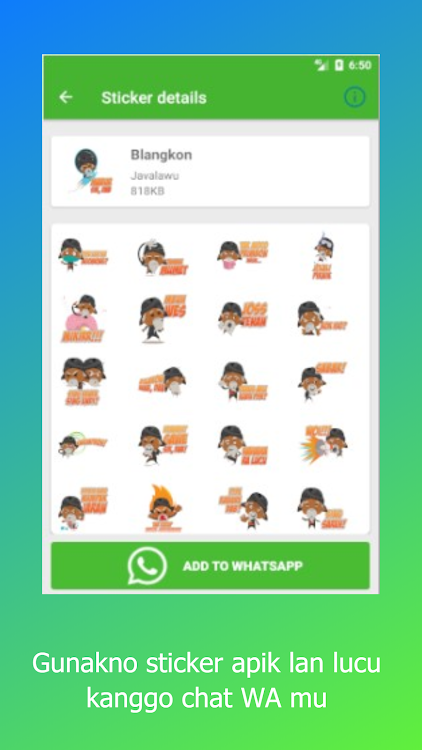 Ambyar Jawa Sticker For Whatsapp Wastickerapps Android Apps