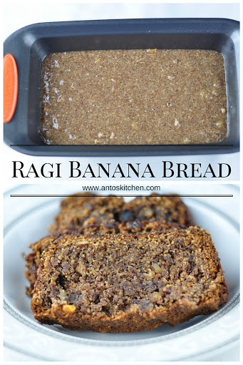 ragi banana bread