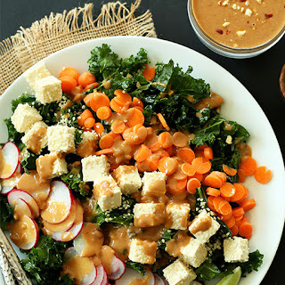 Crunchy Thai Kale Salad