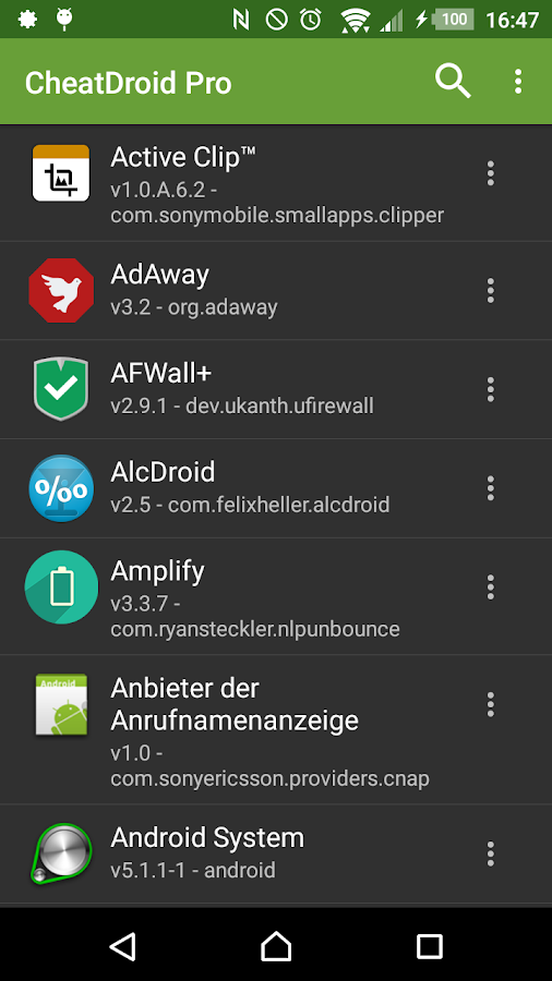 Cheat Droid ★ root only- screenshot