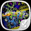 Rock Graffiti Theme icon