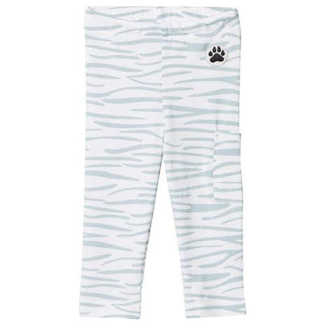 Little LuWi Blue Tiger Leggings