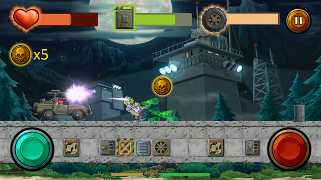 Guns And Wheels Zombie (Full) APK screenshot thumbnail 14