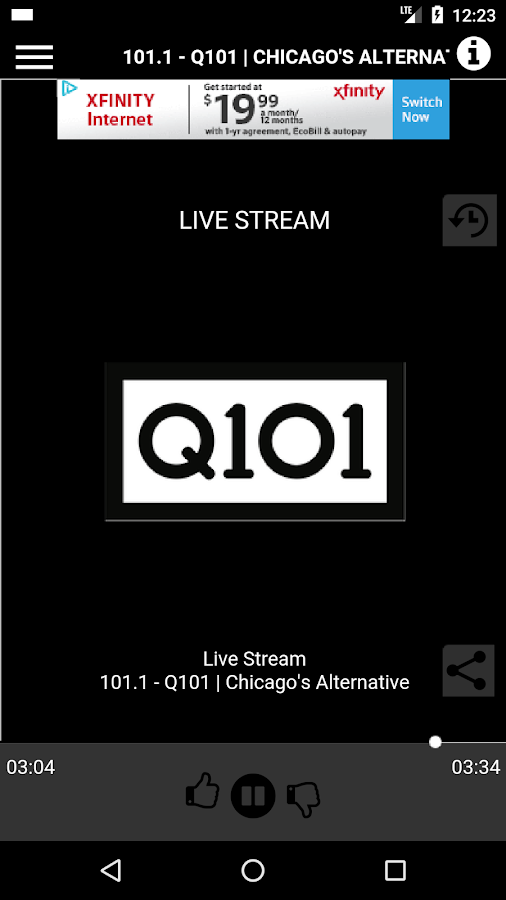 Q101 | Alternative Since 1992- screenshot
