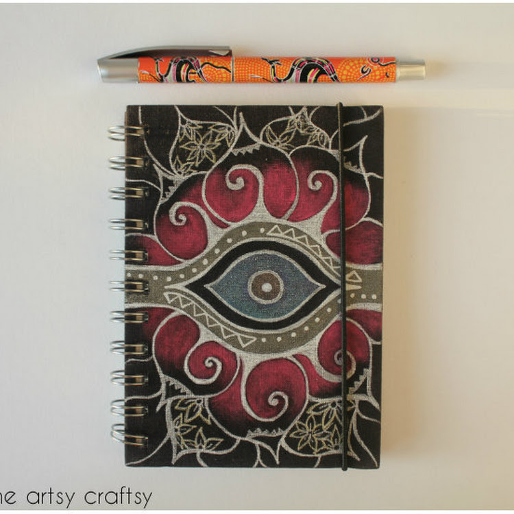 Eye Protector - A5 Notebook by The Artsy Craftsy