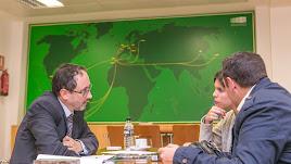 Reunión para preparar un plan de internacionalización en Extenda