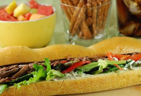 Pesto Beef Sandwich Recipe