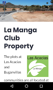 Las Acacias La Manga Club  - Plots & Properties- screenshot thumbnail