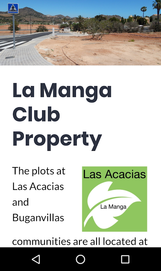 Las Acacias La Manga Club  - Plots & Properties- screenshot
