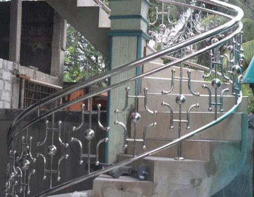 Stainless Steel Railing Design Screenshot 7
