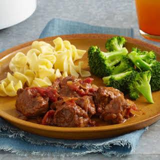 Easy Slow-Cooker A.1. Swiss Steak.