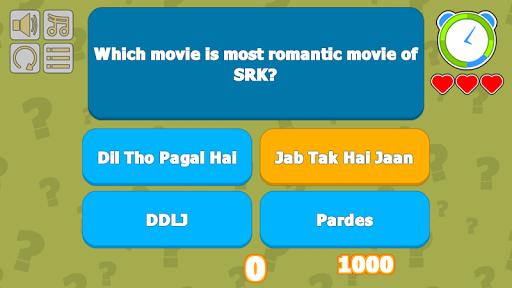 SRKian Fan Quiz