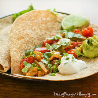 Slow Cooker Veggie Fajitas.