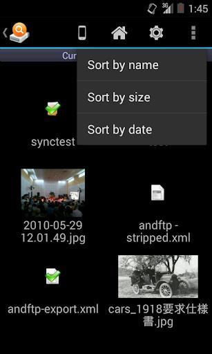 AndExplorer screenshot 2