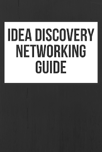 Idea Discovery Networking Guide - náhled