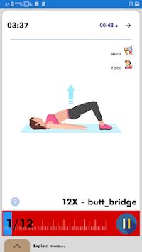 Buttocks Workout - Hips, Legs & Butt
