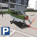 Blocky Airplane Airport Park icon