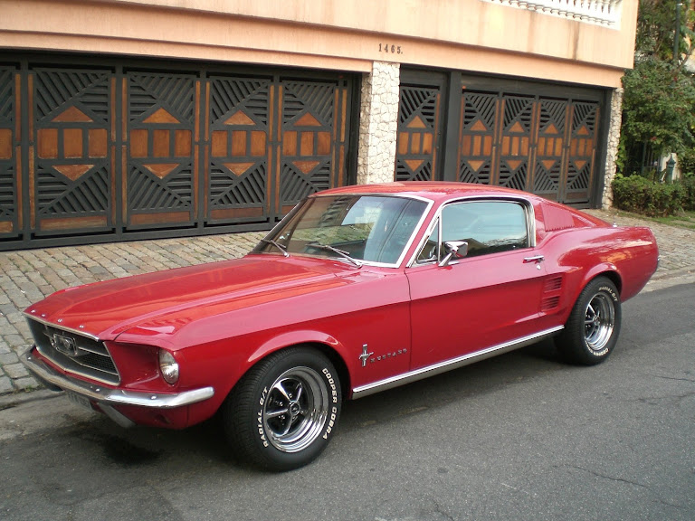 Ford Mustang Fastback Hire S Paulo