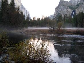 Photo: Akşam yaklaşıyor. Rutubetli zeminde sis oluşuyor.