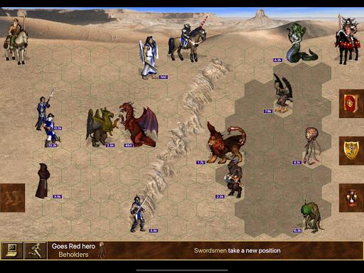 Heroes online battles. Magic and might 3 apktram screenshots 5