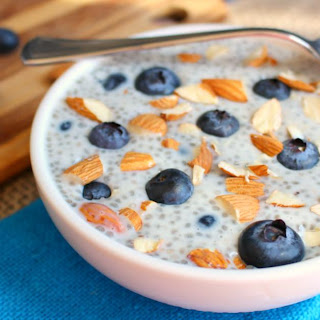 Blueberry Almond Chia Pudding Recipe