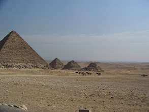 Photo: Little pyramids for the wives.
