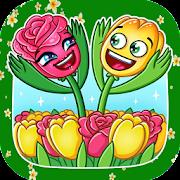 New Flower stickers WAStickerApps