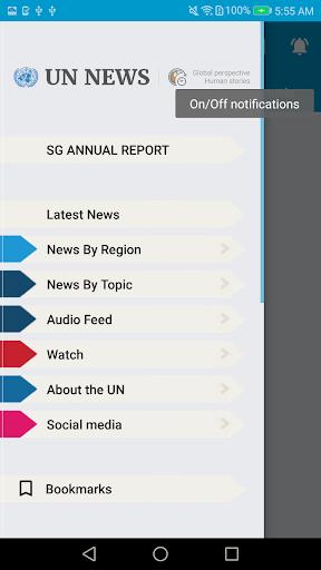 UN News Reader 6.3.7 screenshots 1
