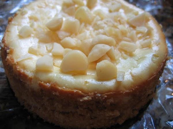 White Chocolate Macadamia Nut Cheesecake Recipe
