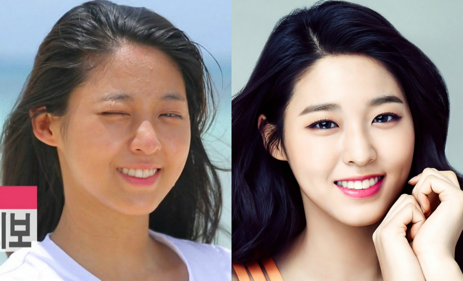 20 Idols Whose Skin Was Tragically Damaged By Makeup Bias