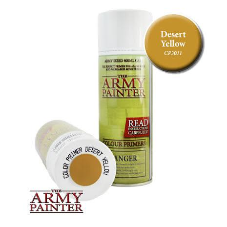 ArmyPainter Colour Primer Spray - Desert Yellow