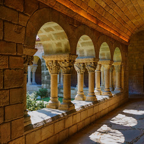 Claustro by Jose Maria Vidal Sanz - Buildings & Architecture Architectural Detail ( color, sony alpha, cloister )