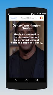 Download Denzel Washington Quotes For PC Windows and Mac apk screenshot 4