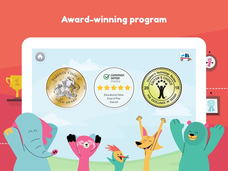 Khan Academy Kids: Free educational games & books Screenshot 11