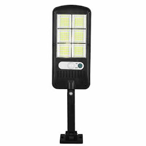 Lampa solara cu senzor de miscare, 120 LED SMD, sistem prindere inclus