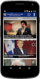 Weeklyvoice - Canadian News- screenshot thumbnail