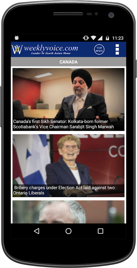 Weeklyvoice - Canadian News- screenshot