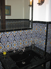 Photo: Bathroom -Serra Pattern- Blue