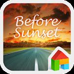 Sunset LINE Launcher Theme Icon
