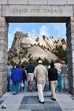 Photo: Stepping Out On To Grand View Terrace, Mount Rushmore National Monument Mount Rushmore is always a place I wanted to visit. It's especially impressive to see in person. It's mind blowing to think about the amount of work that went into it. You merely need to go over to the Crazy Horse mountain sculpture to understand... as they've been working on the Crazy Horse mountain sculpture for decades and they're not even half way along. Posted with #FridayGetaway in mind. Thanks to +Gary Crabbe for curating.