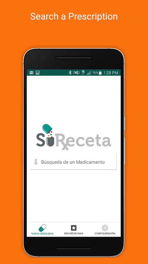 SuReceta Mobile Health- screenshot
