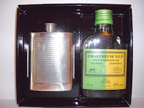 Photo: Une flask de pontificale : pour cette série limitée, une épiscopale composée de VEP vertes et jaunes... (merci à Philippe)