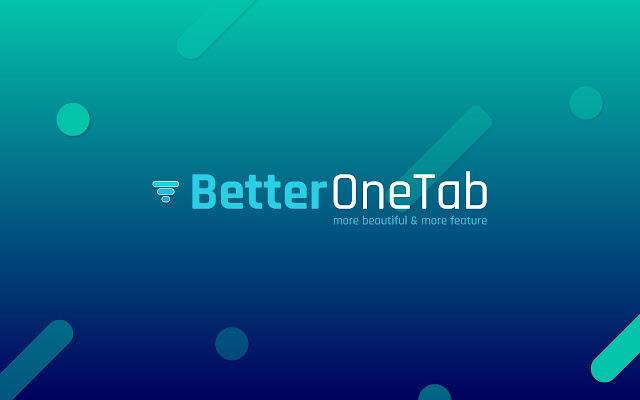 better-onetab